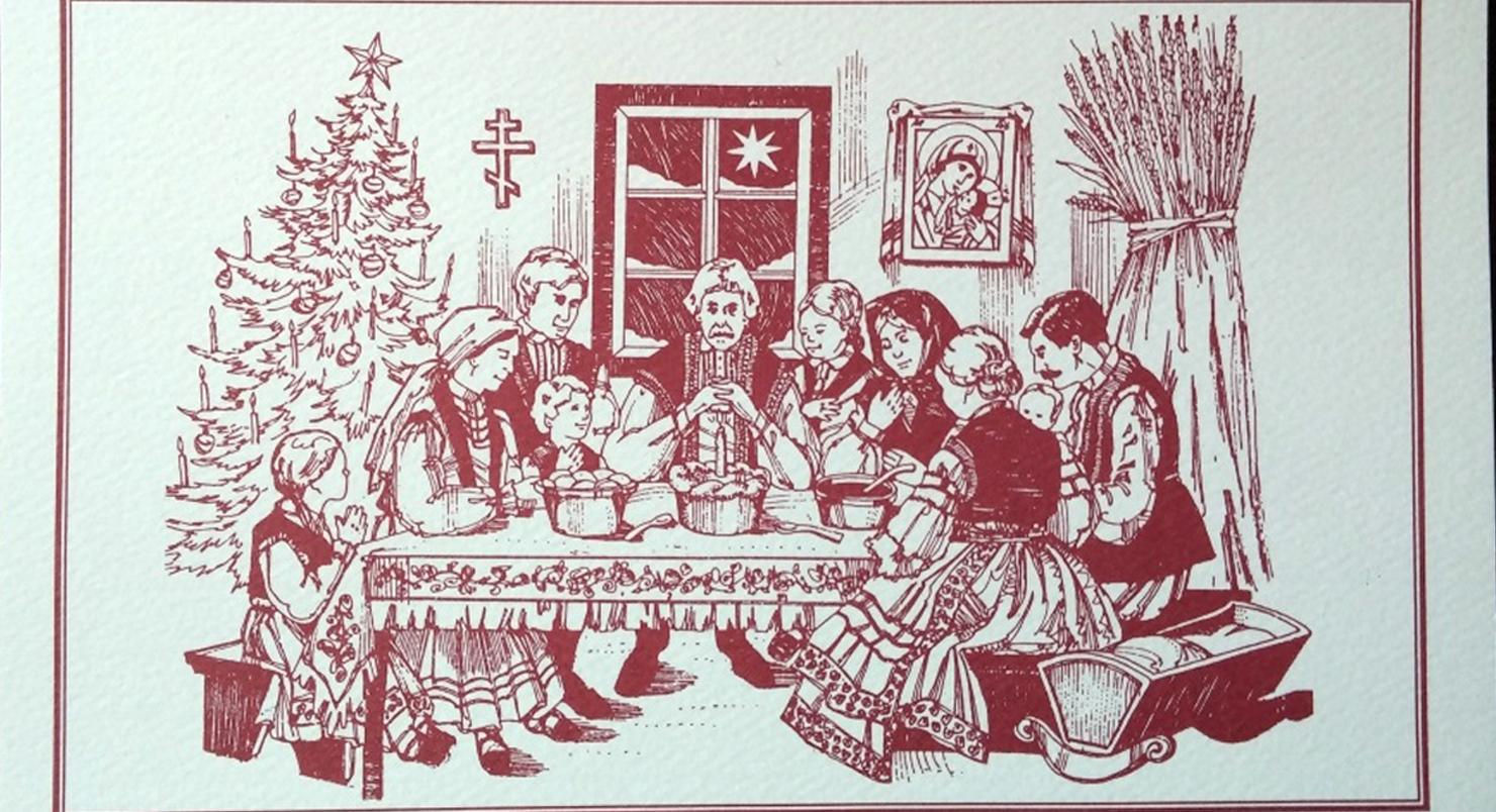Дореволюционные Рождественские открытки в России